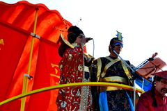 Carnival of Figueira da Foz King and Queen Stock Photo
