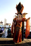 Carnival figure- Italy Stock Images