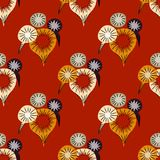 Carnival firework seamless pattern. Original design for print or digital media Stock Photography