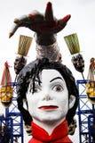 Carnival Float. A float at the carnival of Viareggio Royalty Free Stock Photos