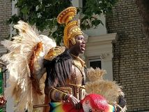 Carnival& x27 ; flotteurs de s Images libres de droits