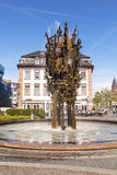 Carnival fountain in Mainz Royalty Free Stock Image