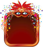 Carnival frame. For your text stock illustration