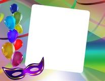 Carnival frame Stock Image