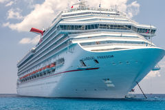 Carnival Freedom Cruise Ship Stock Photography