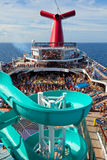 Carnival Freedom Passengers Royalty Free Stock Photo