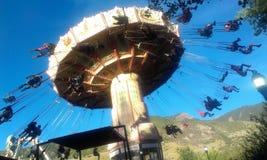 Carnival fun in the sun stock photo