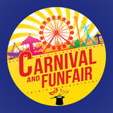 The carnival funfair Royalty Free Stock Photos