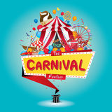 Carnival funfair Royalty Free Stock Images