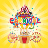 Carnival funfair Royalty Free Stock Photo