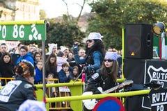 Carnival in Galicia (Spain) Stock Photo