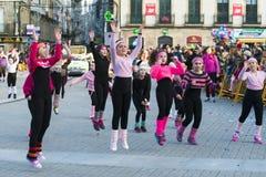 Carnival in Galicia (Spain) Stock Image