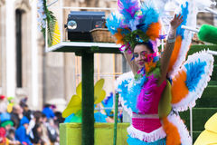 Carnival in Galicia (Spain) Royalty Free Stock Photo