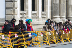 Carnival in Galicia (Spain) Stock Photography