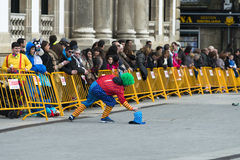 Carnival in Galicia (Spain) Royalty Free Stock Photography