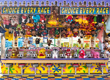 Carnival game stock images
