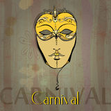 Carnival girl Royalty Free Stock Images