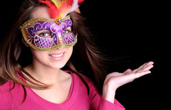 Free Carnival Girl Stock Photography - 23272552