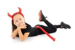 Carnival girl Stock Images