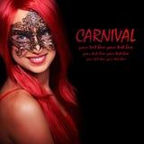 Carnival girl Stock Photos