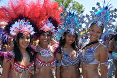 Carnival girls Royalty Free Stock Photos