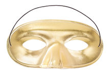 Carnival golden mask Stock Image