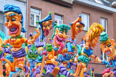 Carnival in Halle Stock Photo