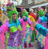 Carnival in Halle, Belgium Stock Photos