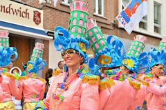 Carnival in Halle, Belgium Royalty Free Stock Photo