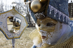 Carnival - Hallia VENEZIA - mirror Stock Photos