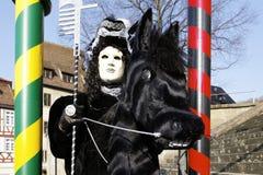 Carnival - Hallia VENEZIA - rider Royalty Free Stock Images