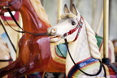 Carnival horses Royalty Free Stock Images
