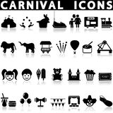 Carnival icon set. vector illustration