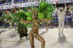 Carnival 2017 - Imperio Serrano Royalty Free Stock Photo
