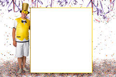 Carnival information board Stock Photography