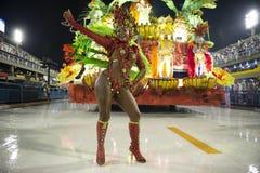 Carnival 2019 Inocentes de Belford Roxo. Rio, Brazil - march 01, 2019: Inocentes de Belford Roxo during the Carnival Samba School Carnival RJ 2019, at Sambodromo royalty free stock images