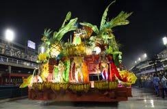 Carnival 2019 Inocentes de Belford Roxo. Rio, Brazil - march 01, 2019: Inocentes de Belford Roxo during the Carnival Samba School Carnival RJ 2019, at Sambodromo royalty free stock photo