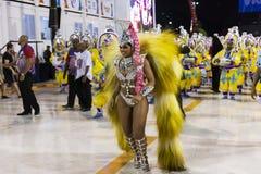 Carnival 2019 Inocentes de Belford Roxo. Rio, Brazil - march 01, 2019: Inocentes de Belford Roxo during the Carnival Samba School Carnival RJ 2019, at Sambodromo stock photo