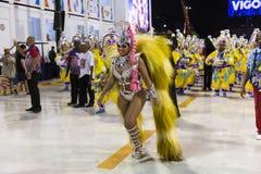 Carnival 2019 Inocentes de Belford Roxo. Rio, Brazil - march 01, 2019: Inocentes de Belford Roxo during the Carnival Samba School Carnival RJ 2019, at Sambodromo stock image