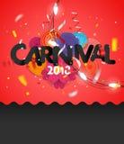 Carnival invitation vector card Stock Image