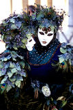 Carnival- Italy. Elaborately costumed Carnival figures- Venice, Italy Stock Photography