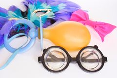 Carnival items Stock Image