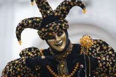 Carnival joker. Portraits of a joker at the Carnival in Venice Italy Stock Photos