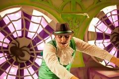 Carnival joker Royalty Free Stock Photography