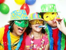 Carnival Kidds. Royalty Free Stock Photography