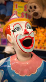 Carnival laughing clown Royalty Free Stock Photos