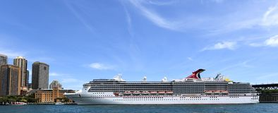 Carnival Legend Cruise Ship royalty free stock photography