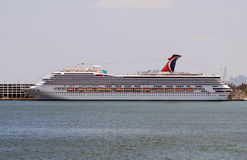 Carnival Liberty cruise ship Royalty Free Stock Photography