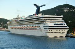 Carnival Liberty ship Stock Image