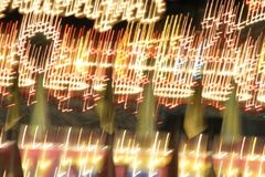 Carnival lights. Blurred abstract of carnival lights Royalty Free Stock Photos